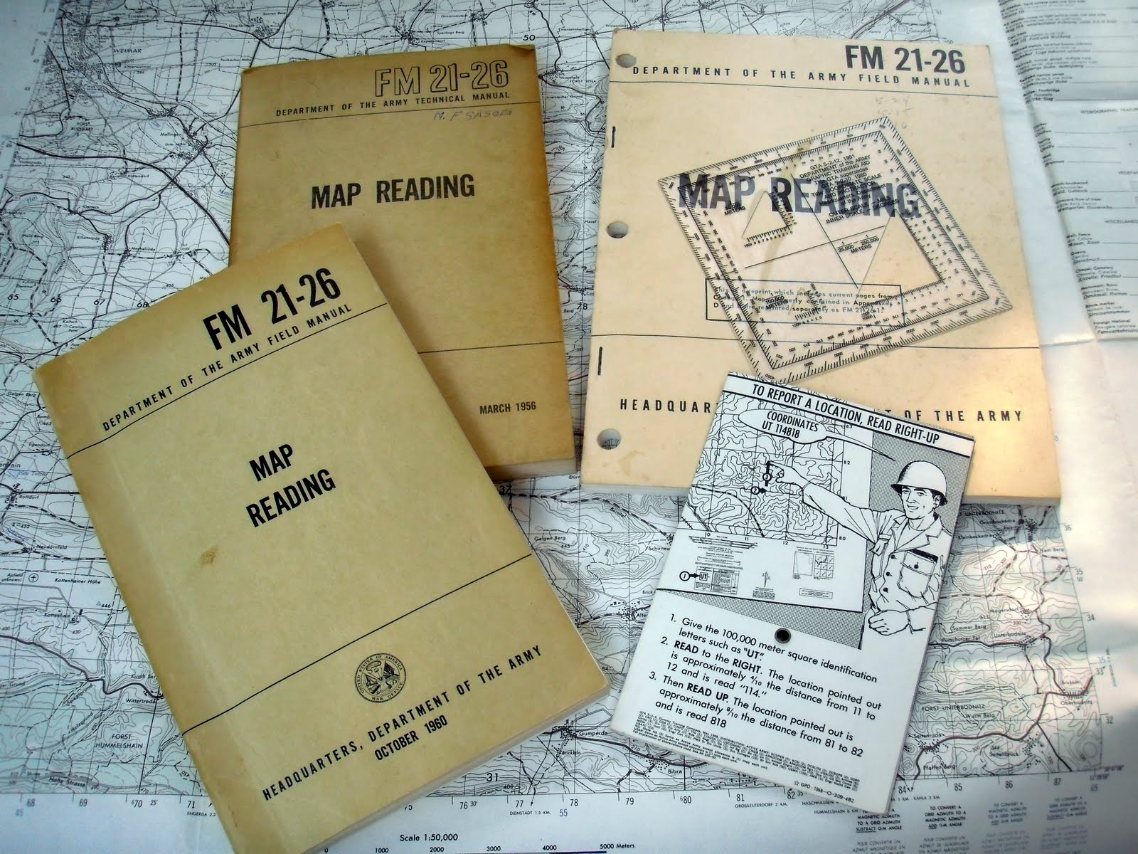 standardized topographic maps plotting tools and training