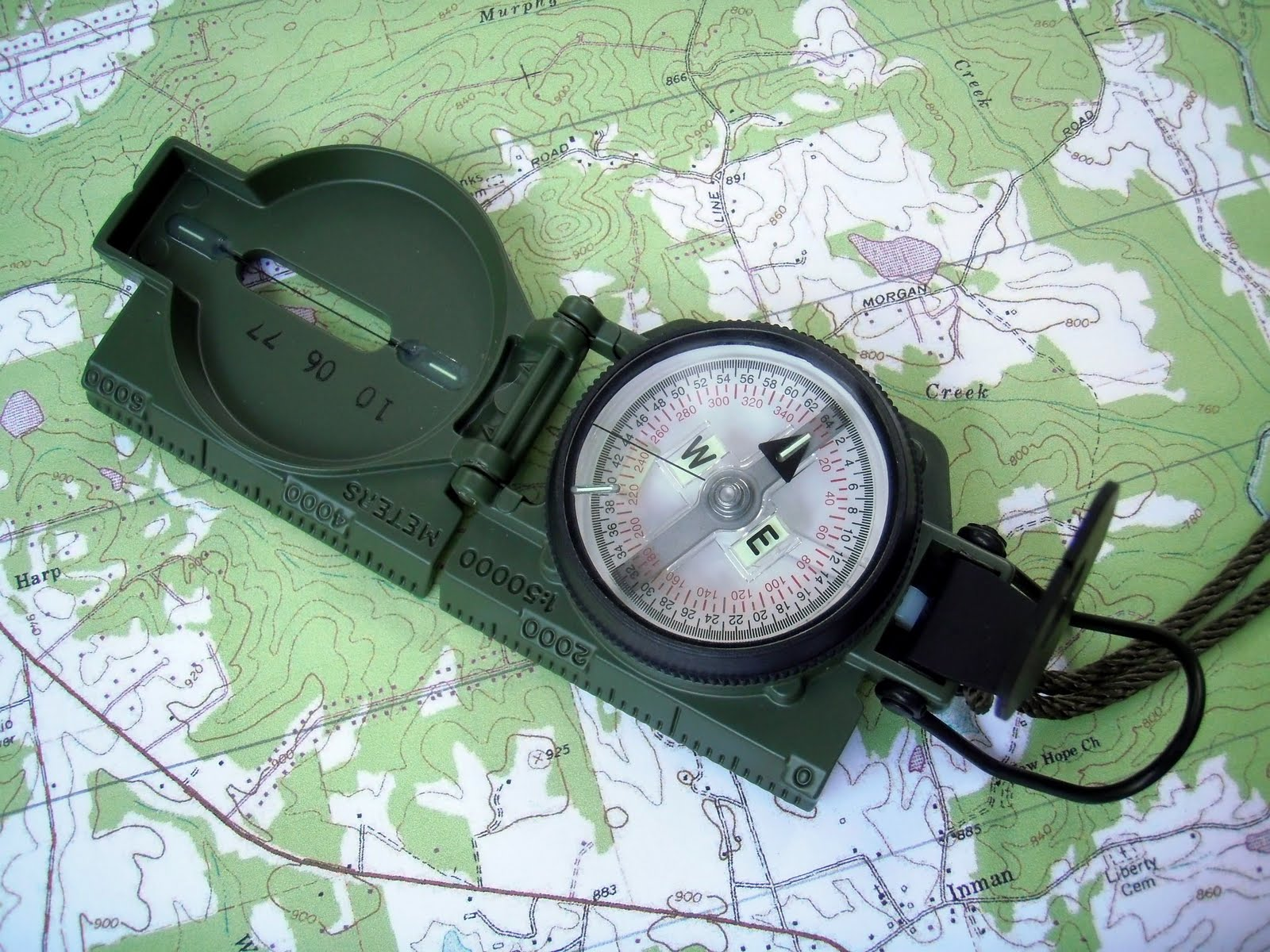 M1950 Lensatic Compass produced in 2010 by Cammenga. Today Cammenga is the  sole contractor producing lensatic compasses for the US military. 3002bede45f6
