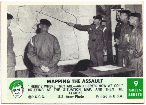 Mapping the Assault