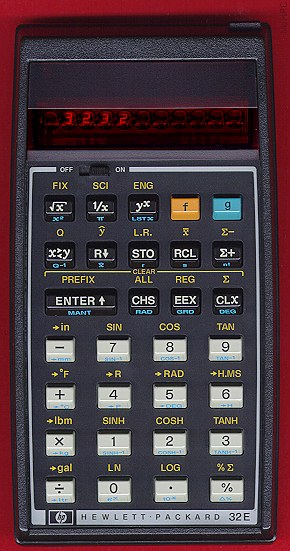 HP 32E Calculator