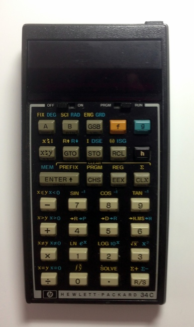 HP 34C Calculator