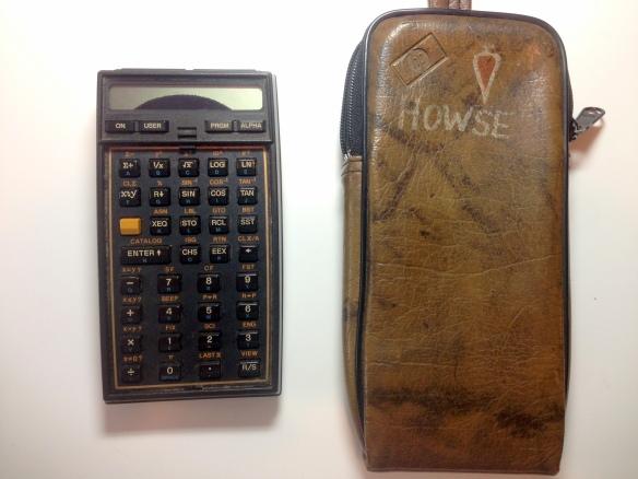 HP 41CV Calculator