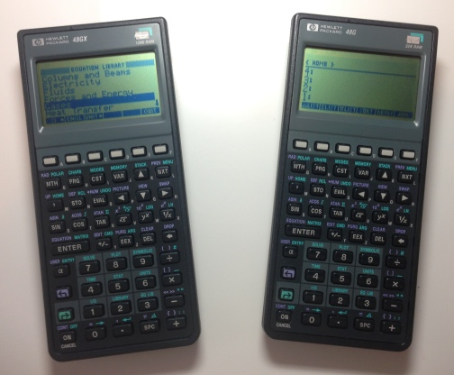HP 48G Calculator