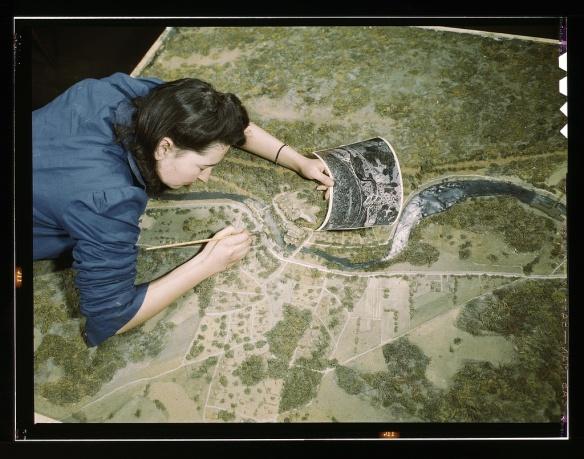 WWII Terrain Model Making