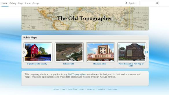 Old Topographer Website