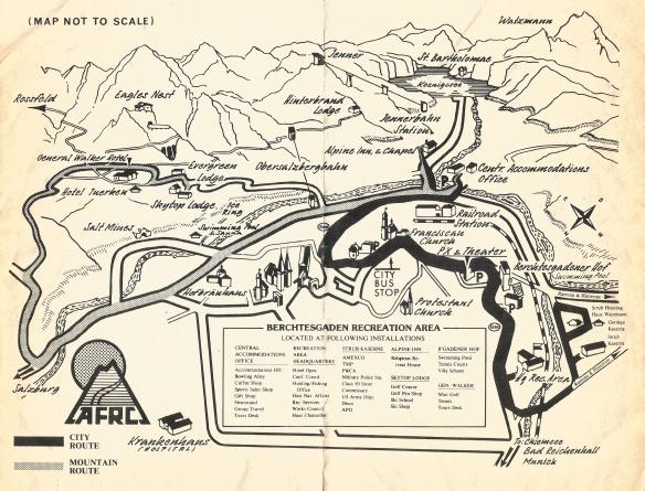 AFRC Bertchegaden Map