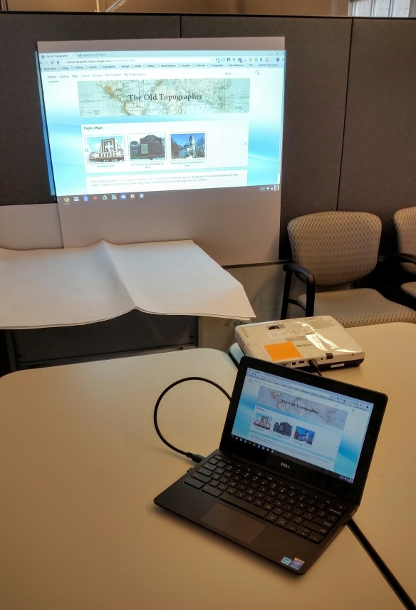 Chromebook projector