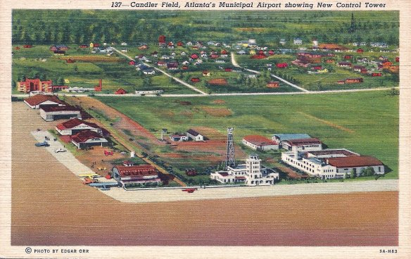 Candler Field Post Card 2