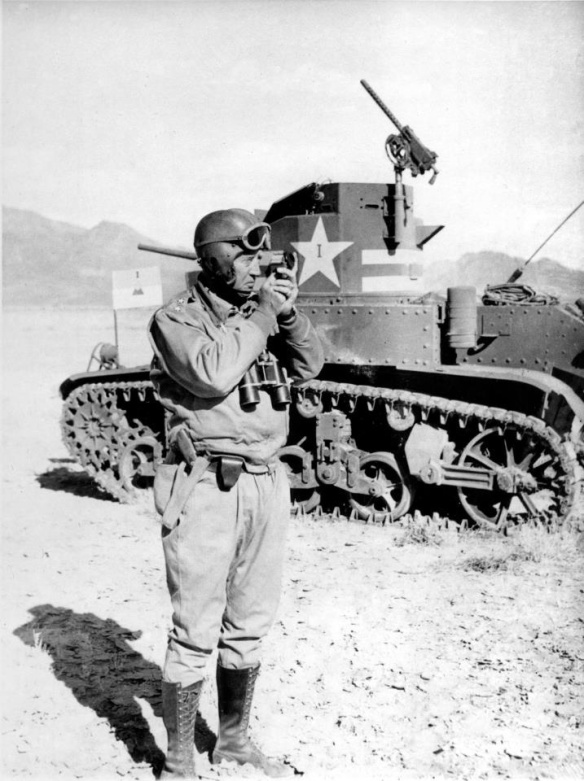 Patton With Compass